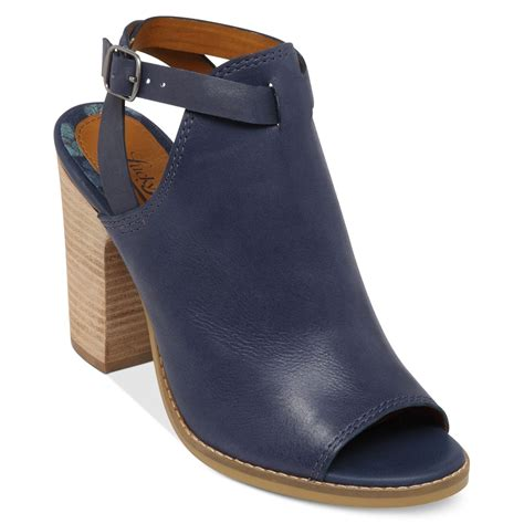 lucky sandals lucky brand womens lubov covered sandals in blue moroccan