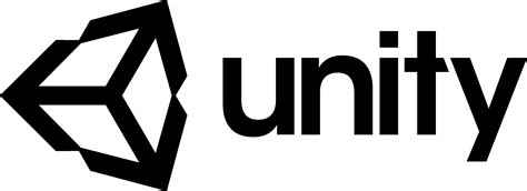unity logo unitydcom vector icon template clipart