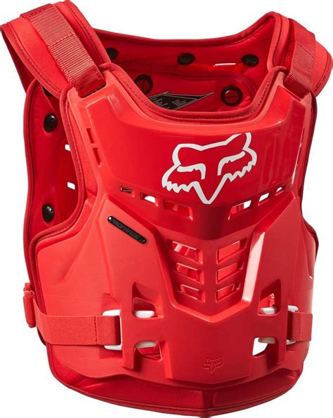 fox motocross chest protector 79 95 fox racing youth proframe lc roost deflector chest