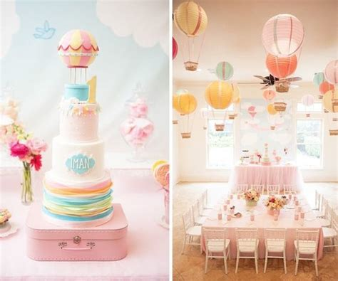 Air Balloon Themed Baby Shower by Top Baby Shower Themes Beacon