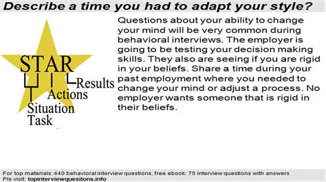 common interview questions job interviewing tips answer