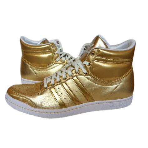 Sneaker Adidas Gold adidas top ten hi sleek w shoes sneakers size us 8 11 gold