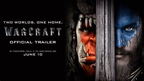 warcraft the official movie trailers warcraft 2016 official trailer 1 concert addicts