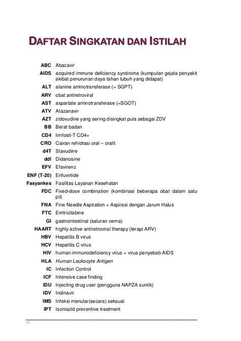 Obat Fdc Arv pedoman pengobatan arv 2011