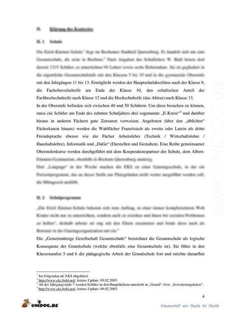 Reflexion Schreiben Praktikum Muster Unidog Praktikumsbericht Schulpraktische Studien Ws 05 06