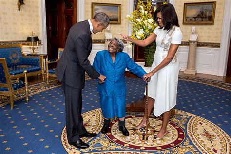 is michelle grace harry african american meet the 106 year old who got to dance with the president
