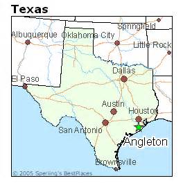 angleton map best places to live in angleton
