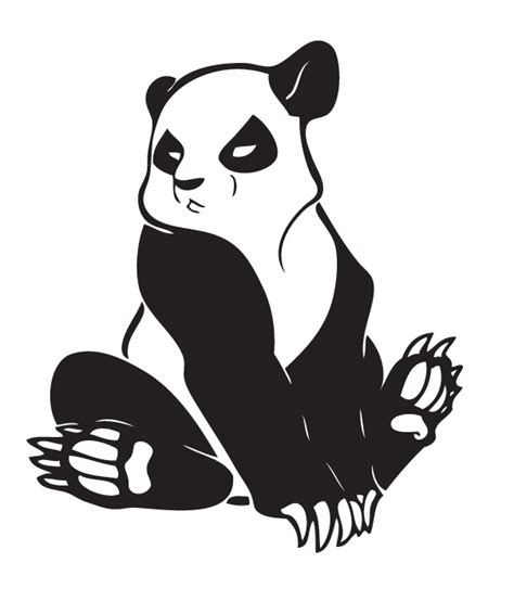 tribal panda tattoo panda tattoos designs ideas and meaning tattoos for you
