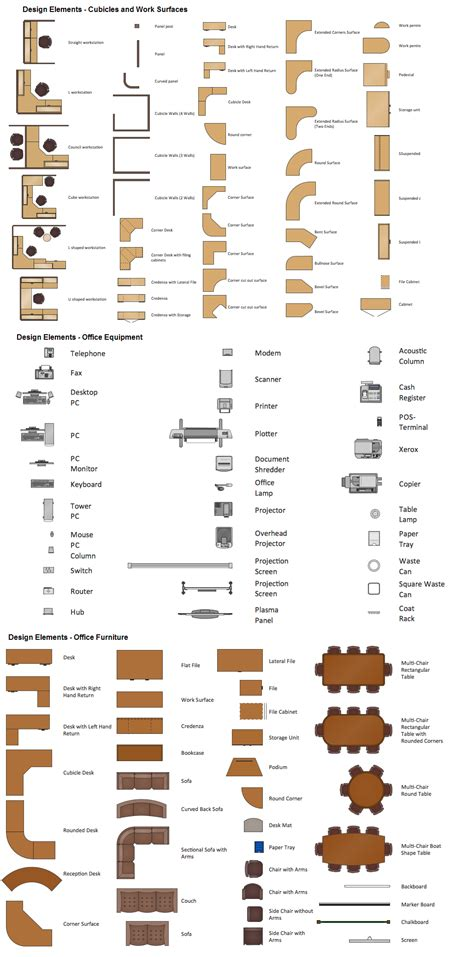 office floor plan symbols office layout software create great looking office plan
