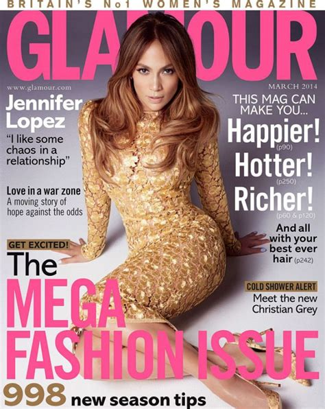 jennifer lopez covers the debut issue of glam belleza magazines of the month lily allen jennifer lopez emma