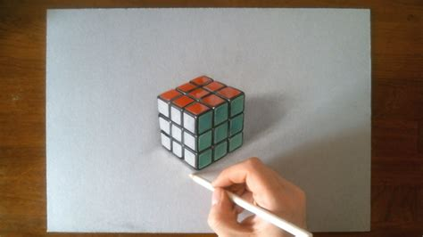 Sketches 3d Easy by How To Draw 3d Drawing Step By Step Pencil Drawing