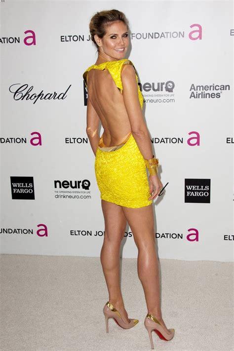 Backless And Beautiful Heidi Klum 47 best images about heidi klume on fashion