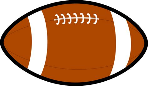 football clipart free football clip at clker vector clip