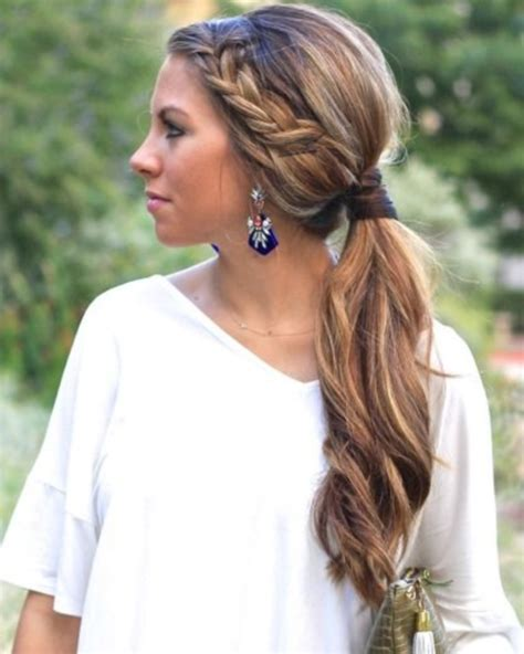 homecoming ponytail hairstyles 82 of the most romantic and inspiring side ponytails