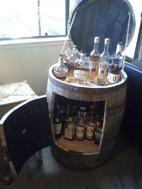 wine barrel liquor cabinet 73 best images about whiskey barrels ideas on pinterest