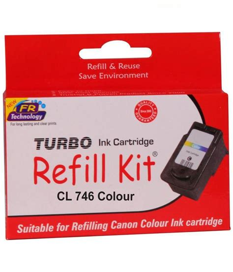 Canon 746 Ink Cartridge Color turbo refill kit for canon 746 color ink cartridge buy
