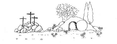 Empty Tomb Empty Tomb Of Jesus Biblekids Free Coloring Pictures Of Jesus And The At The Well
