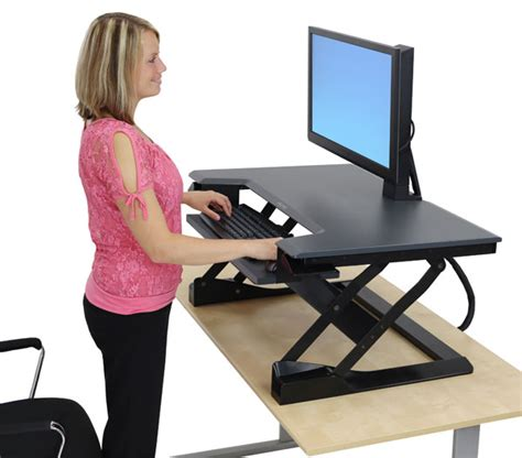 stand to sit desk 33 397 085 workfit t sit stand desktop workstation exec