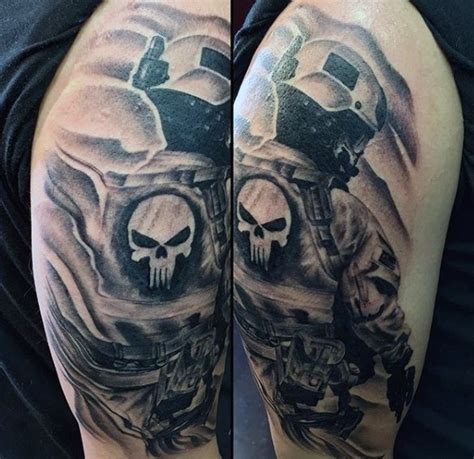 tattoo modern gallery stunning very detailed modern soldier shoulder area tattoo