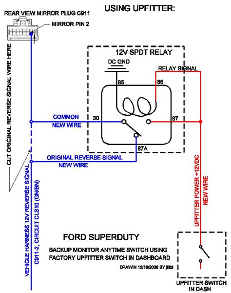 free backup wiring diagram ford explorer ford