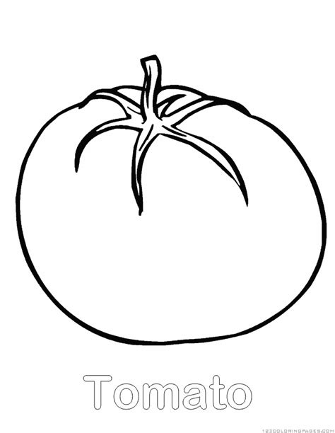 tomato coloring page pictures to pin on pinterest pinsdaddy