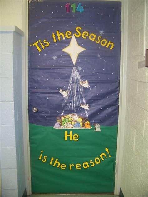 notre dame school talent show  christmas door decorating contest