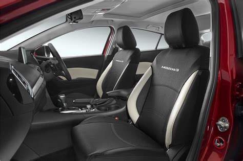 mazda tribute seat covers australia new genuine mazda 3 bm bn front seat cover pair neoprene