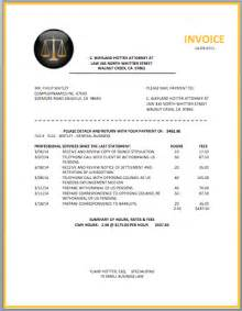 Solicitors Invoice Template by Attorney Invoice Template Format Template