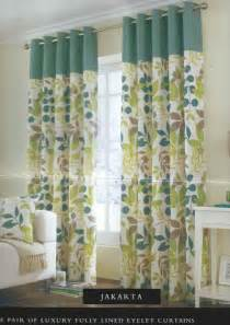 Teal Floral Curtains Floral Teal Eyelet Ring Top Ready Made Curtains Pair 8 Sizes Cushion Covers Ebay