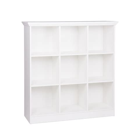 small white bookcase country wide bookcase small in white with 9 compartments