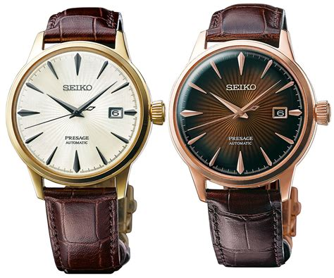 Cocktail Time by Seiko Presage Ssa Srpb Cocktail Time Watches For 2017
