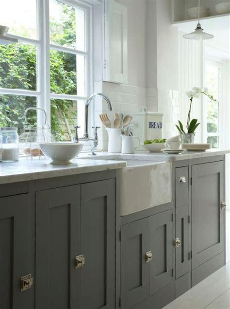 Farmhouse Cabinets For Kitchen by Gray Farmhouse Kitchens Design Ideas