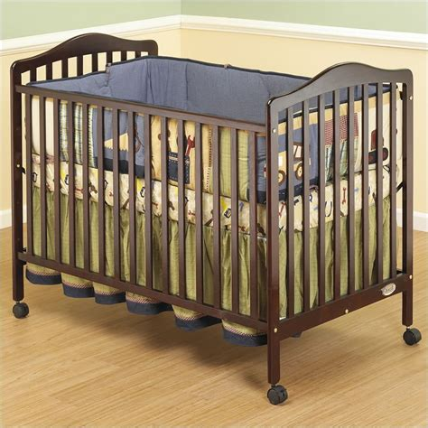 Cherry Wood Convertible Crib by Runtime Error