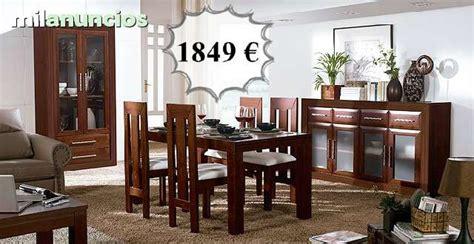 salones de segunda mano milanuncios muebles de comedor de segunda mano casa dise 241 o