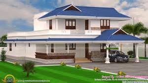 exceptional 4 Bedroom Floor Plans For A House #6: kerala-model-home.jpg