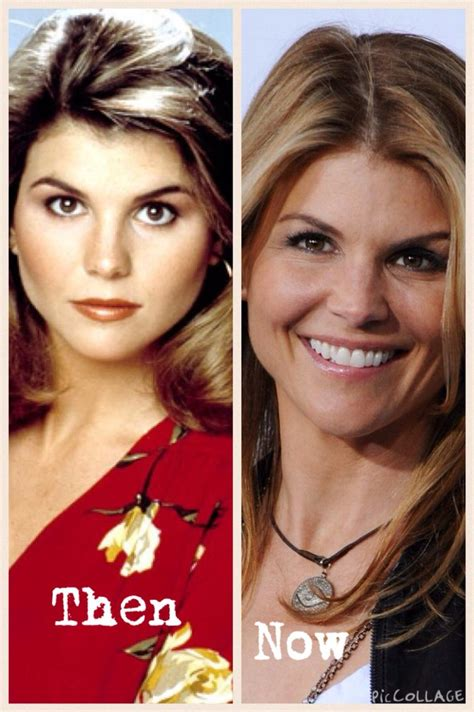 lori loughlin now and then lori loughlin then and now full house pinterest lori