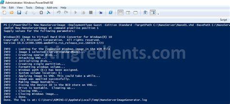 install  configure nano server   windows