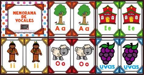 imagenes educativas las vocales memorama de las vocales imagenes educativas