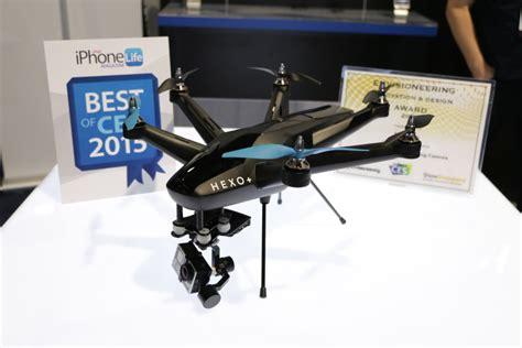 Drone Hexo ces 2015 hexo le drone qui suit les sportifs 224 la trace