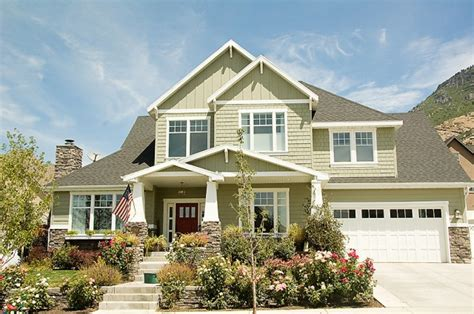 craftsman style home exteriors modern craftsman gorgeousness favorite exteriors pinterest