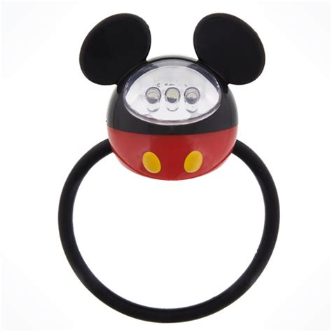 Mickey Led your wdw store disney bike accessory mickey led bicycle light