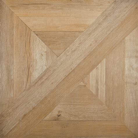 Italian tiles that look like assembled parquet panels mansion