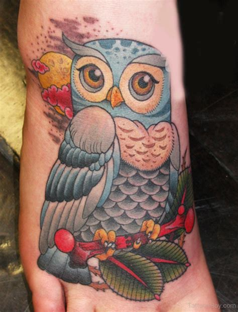 colorful tattoos for females 42 owl tattoos ideas for females