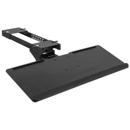Adjustable Keyboard Tray Desk by Vivo Black Adjustable Computer Keyboard Mouse Platform