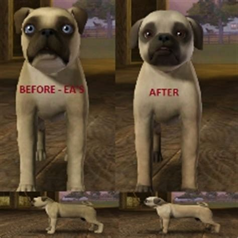 sims 3 pets pug classic pug by auto magix kimber the exchange community the sims 3
