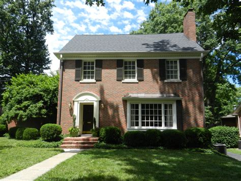 style house beautiful federal style chevy chase home