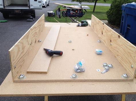 truck bed drawers plans home built truck bed slide the garage journal