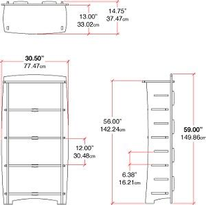 pdf diy bookshelf design dimensions bookcase