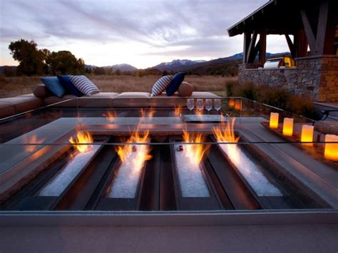 bench on fire fire pit bench ideas hgtv