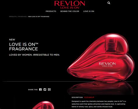 Revlon Is On revlon is on perfumes colognes parfums scents